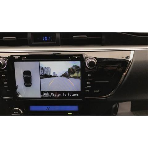 Camera 360 cho xe Toyota Corolla Altis