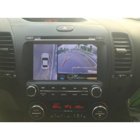 Camera 360 ô tô cho xe Kia Cerato