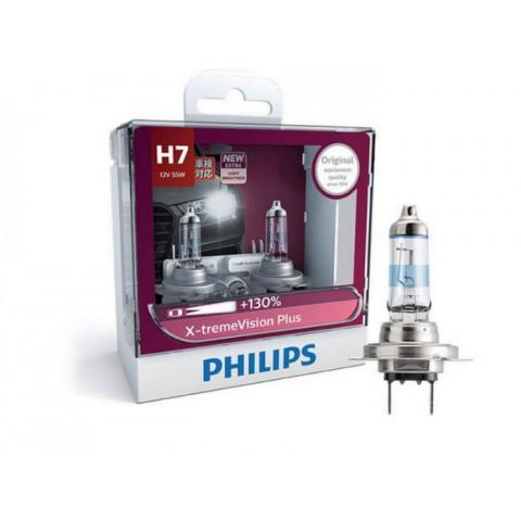 Bóng đèn xenon ôtô H7 Philips Xtreme Vision Plus 130