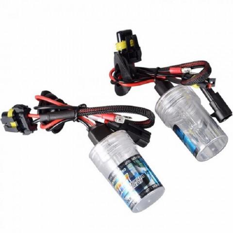 Độ bóng đèn bi xenon ô tô xe Hyundai Santafe