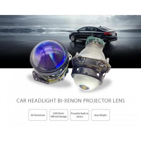 Độ bóng đèn bi xenon ô tô xe Mitsubishi Lancer