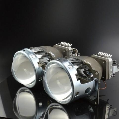 Độ bóng đèn bi xenon ô tô xe Hyundai Grand i10
