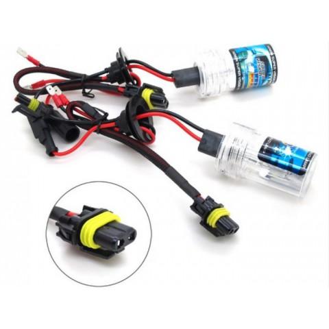 Độ bóng đèn bi xenon ô tô xe Nissan Teana