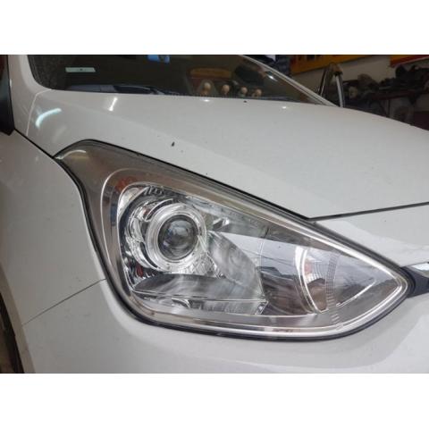 Độ bóng đèn bi xenon ô tô xe Hyundai i10