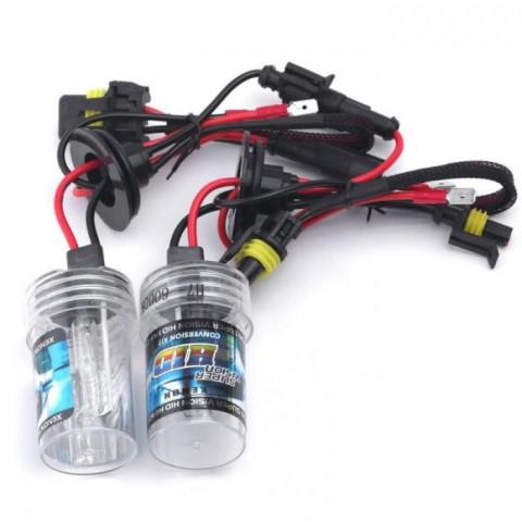 Độ bóng đèn bi xenon ô tô xe Toyota Yaris