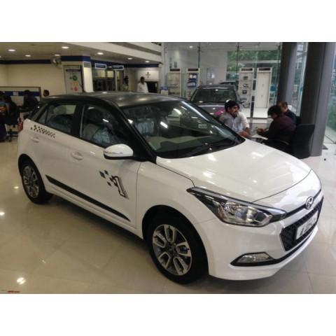 Dán phim cách nhiệt ô tô cho xe Hyundai i20 Active