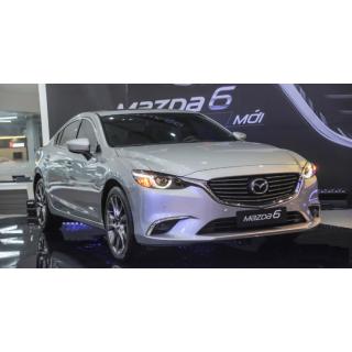 Dán phim cách nhiệt ô tô cho xe Mazda 6
