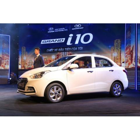 Dán phim cách nhiệt ô tô cho xe Hyundai Grand i10