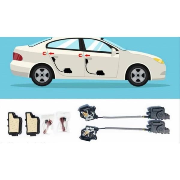 Cửa hít ô tô cho xe porsche cayenne