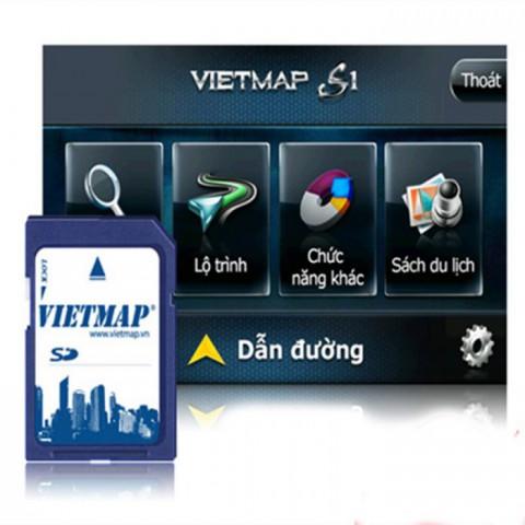 Thẻ bản đồ dẫn đường Vietmap