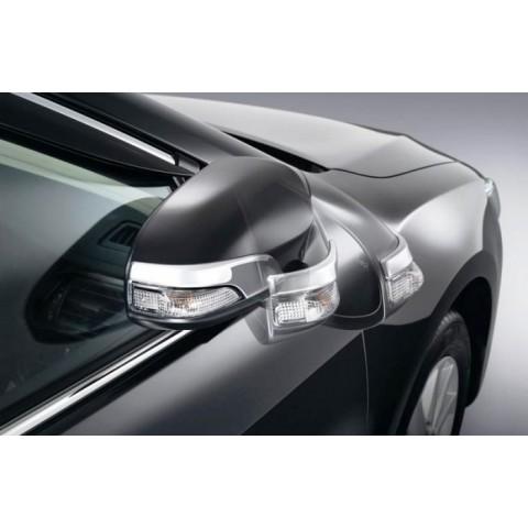 Gập gương lên xuống kính ô tô Hyundai Santafe