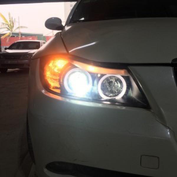 BMW 325i thay đèn nguyên bộ mẫu E90