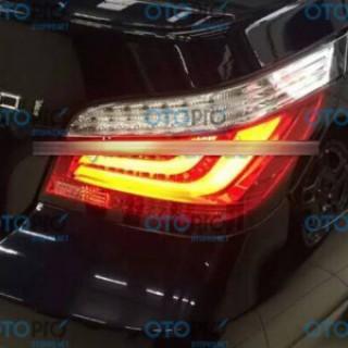 Đèn hậu LED BMW E60 5 Series 520i 523i 525i 528i 530i 2004-2007 mẫu JX màu đỏ