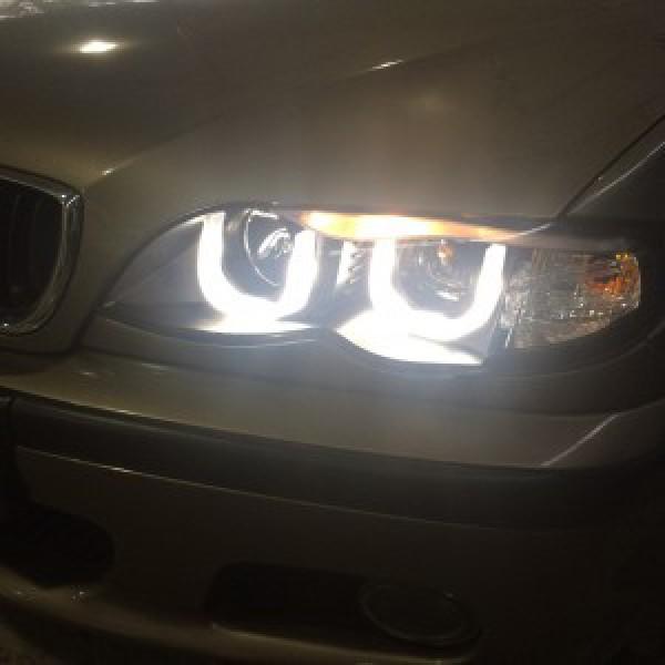 BMW E46 2004 thay đèn nguyên bộ