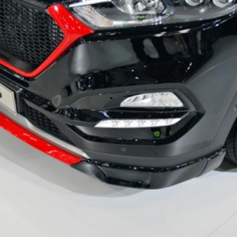Ốp lip trước cho Hyundai Tucson 2016 mẫu M&S