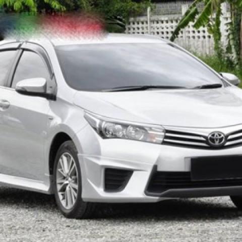 Bodylip cho Toyota Corolla Altis 2014-2016 mẫu Zercon