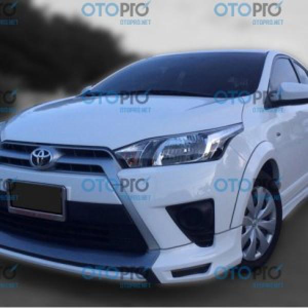 Bodykit cho Toyota Yaris 2014-2016 mẫu D-One Plus Thái Lan