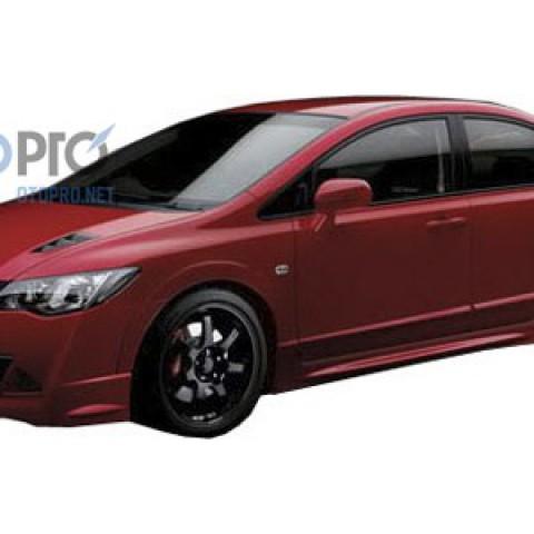 Bodylips cho xe Civic 2009 mẫu Mugen RR