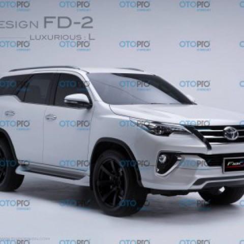 Bodykits cho Toyota Fortuner 2016 mẫu FD-2 (L-Sport)