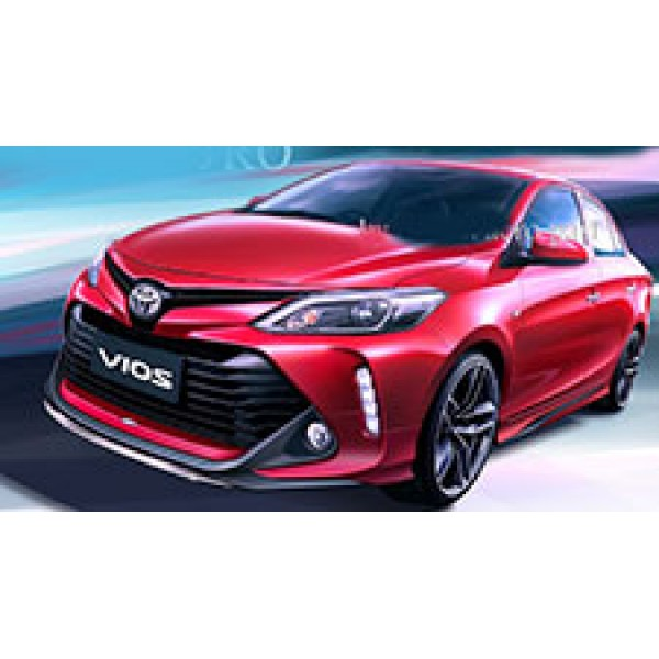 Body Kits Toyota  Vios 2017 mẫu  JRO