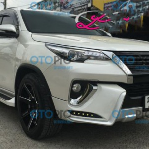 Bodykits cho Toyota Fortuner 2016 mẫu LX