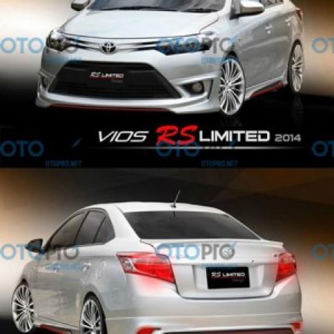Bodykit cho Toyota Vios 2014-2016 mẫu RS Limited Thái Lan