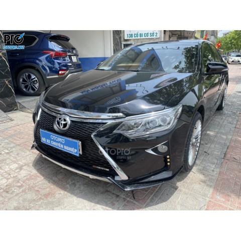 Toyota Camry độ cản trước sau & thay mâm maybach