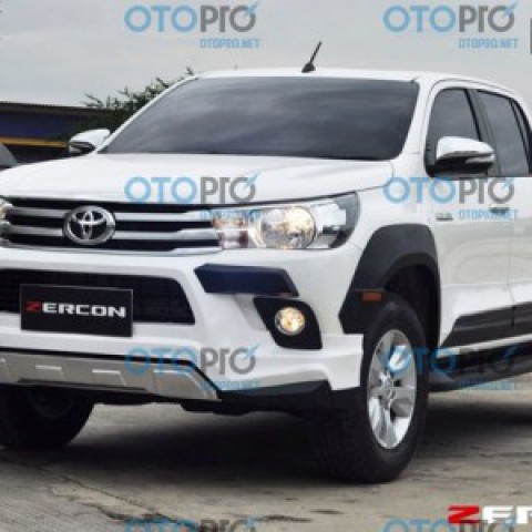 Bodylip cho Toyota Hilux Revo 2015-2016 mẫu Zercon Thái Lan