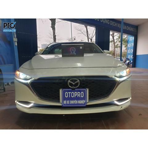 Mazda 3 2020 lên Bi pha Omega Domax Laser