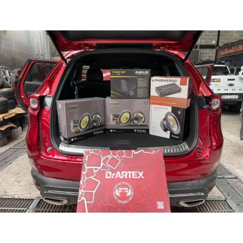 Cách âm chống ồn Dr ARTEX cho Mazda CX8