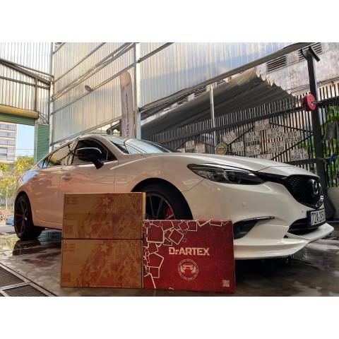 Cách âm chống ồn với vật liệu DrARTEX cho Mazda 6