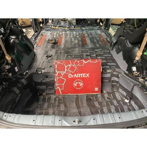 Cách âm chống ồn với vật liệu DrARTEX cho Kia Sedona