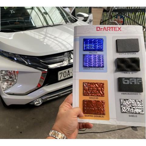 Cách âm chống ồn với vật liệu DrARTEX cho Mitsubitshi Xphander