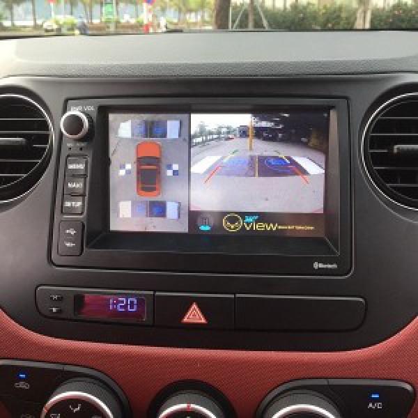 Camera 360 cho xe hyundai i10