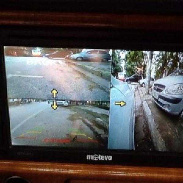Bộ chia camera 4 hướng cho ô tô