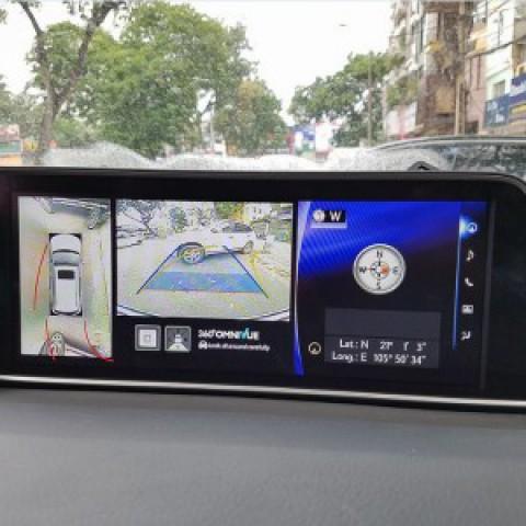 Camera 360 cho xe Lexus RX350