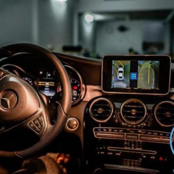 Camera 360 cho xe Mercedes C250
