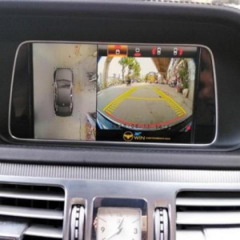 Camera 360 cho xe Mercedes E400