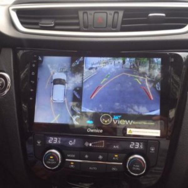 Camera 360 cho xe Nissan X-Trail