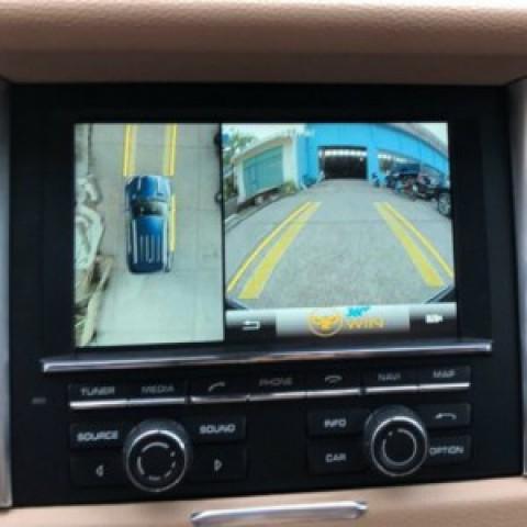 Camera 360 cho xe Porsche Macan