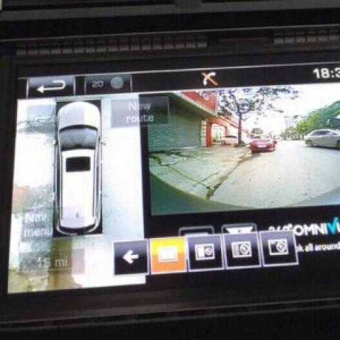 Camera 360 cho xe Range Rover Evoque