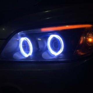 Chevrolet Captiva 2010 độ vòng Ae và mí khối