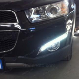 Đèn gầm độ LED nguyên bộ cho xe Chevrolet Captiva 2012