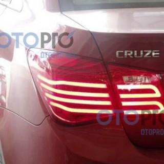 Đèn hậu độ LED nguyên bộ Lacetti/Cruze kiểu Mercedes E
