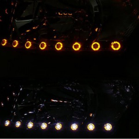 Dải LED pha màu UFO dành cho xe Lacetti-Cruze 2010