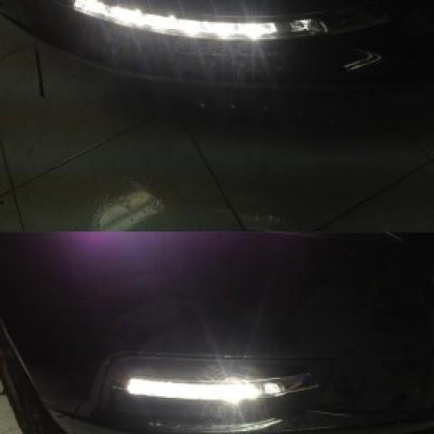 Đèn gầm LED DRL kiểu mercerdes dành cho xe Lacetti-Cruze