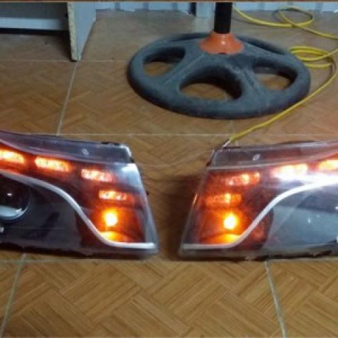 Độ đèn pha Lacetti mẫu bi Q5