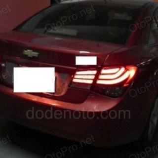 Đèn hậu độ LED nguyên bộ xe Lacetti BMW series 5 kiểu khói
