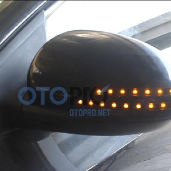 Độ xi nhan LED gáo gương, ốp gương cho xe Lacetti/Cruze