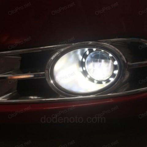 Độ đèn gầm siêu sáng Osram cho xe Daewoo Lacetti